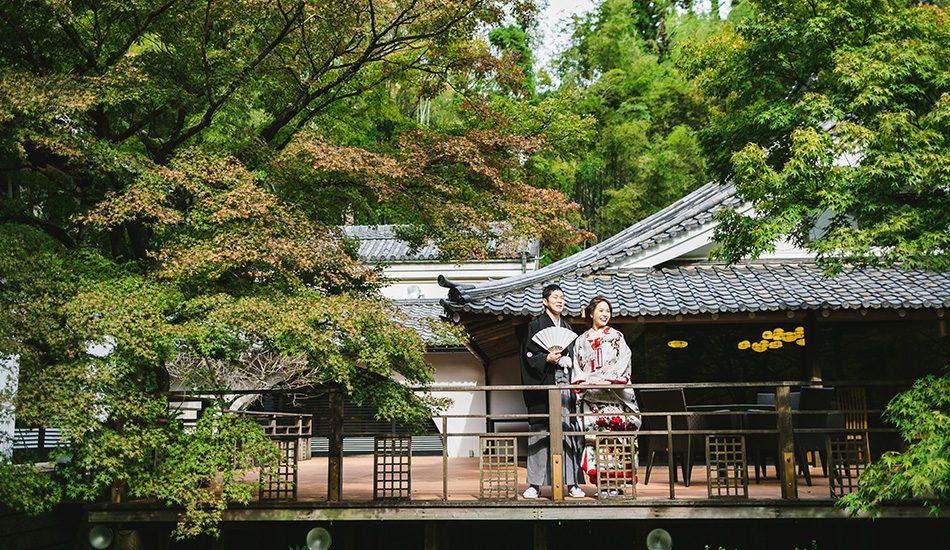 フォトウエディング 日本庭園と邸宅撮影 追加プラン